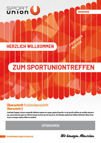 SPORTUNION Basisvorlage mehr Text